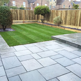 Slab & Patio Laying - Harveys Grounds Maintenance Cannock, Staffordshire